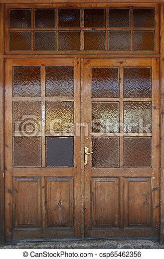 Wooden Door - csp65462356