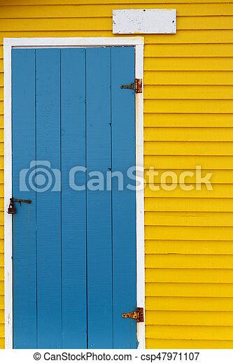 Wooden Door - csp47971107