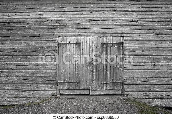 Wooden Door   Csp6866550