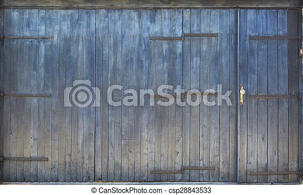 Wooden Door - csp28843533