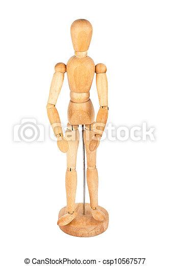 Wooden dummy - csp10567577
