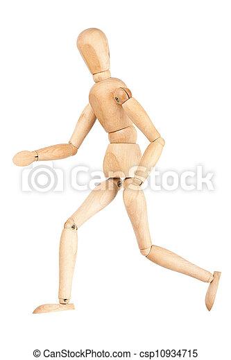 Wooden dummy - csp10934715