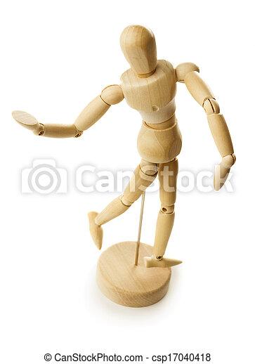 Wooden dummy - csp17040418