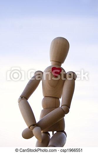 Wooden dummy - csp1966551