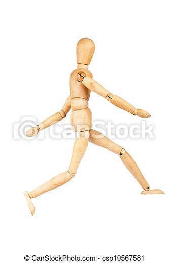 Wooden dummy - csp10567581