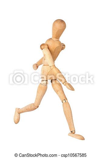 Wooden dummy - csp10567585