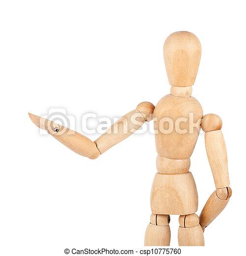 Wooden dummy - csp10775760