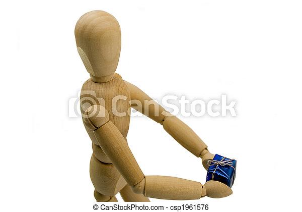 Wooden dummy - csp1961576