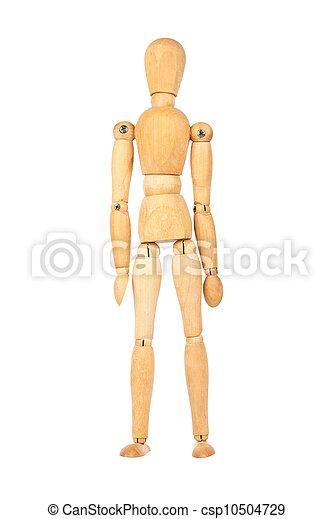 Wooden dummy - csp10504729