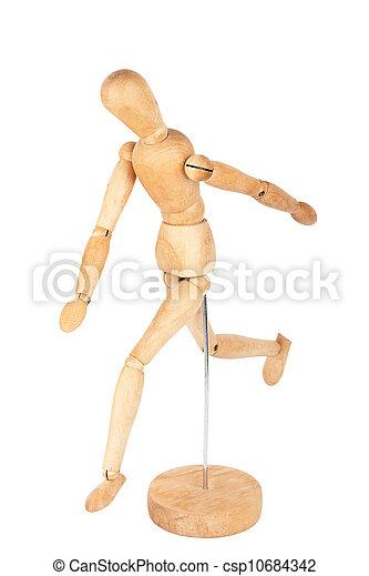 Wooden dummy - csp10684342