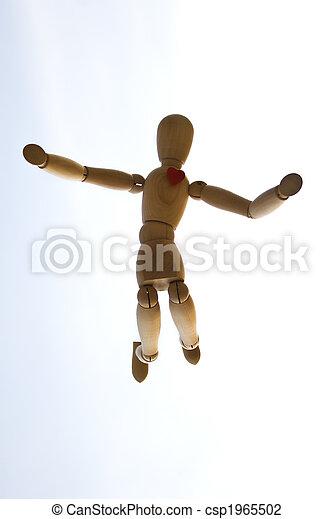Wooden dummy - csp1965502