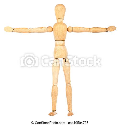 Wooden dummy - csp10504736