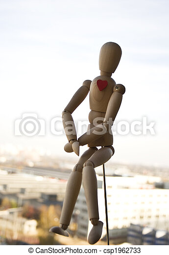 Wooden dummy - csp1962733