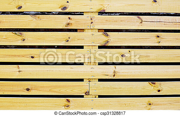 wooden fence - csp31328817