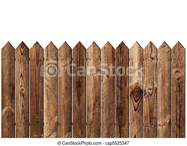 wooden fence - csp5525347