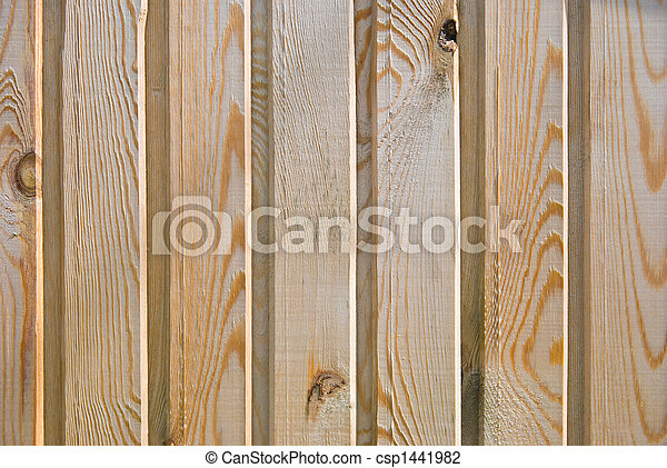 wooden fence - csp1441982
