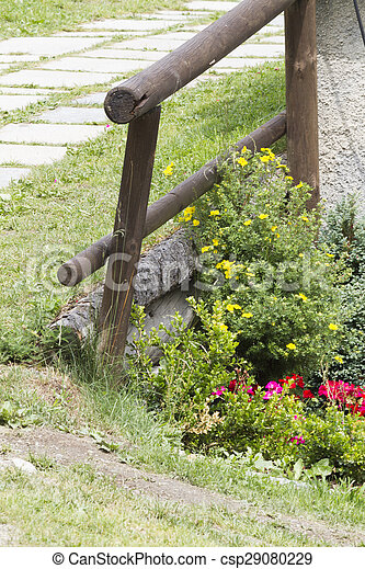 wooden fence - csp29080229