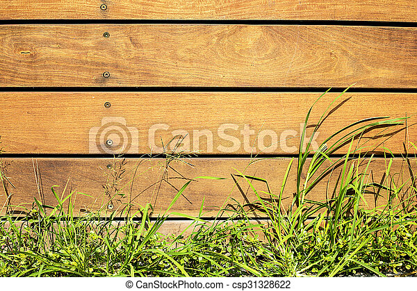 wooden fence - csp31328622