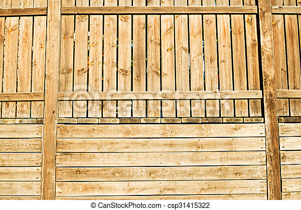 wooden fence - csp31415322