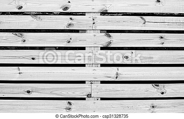 wooden fence - csp31328735