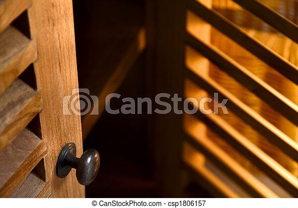Wooden furniture - csp1806157