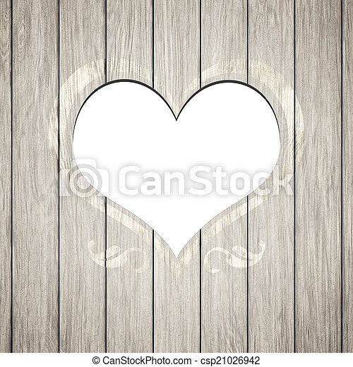 An image of a beautiful wooden heart frame stock photo - Search ...