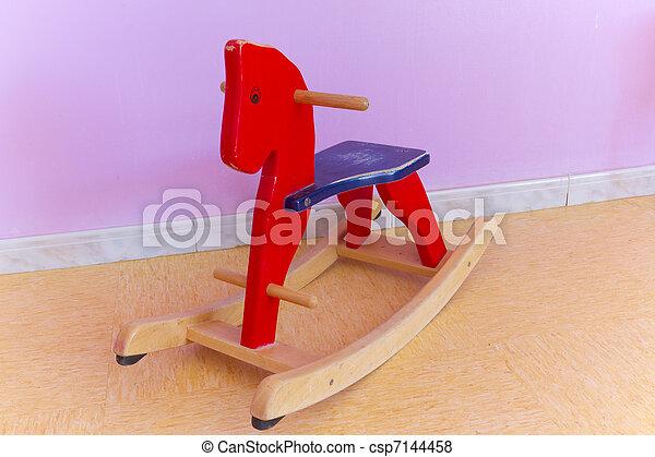 Wooden horse - csp7144458
