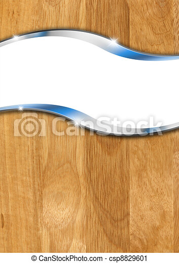 Wooden Metal Background - csp8829601