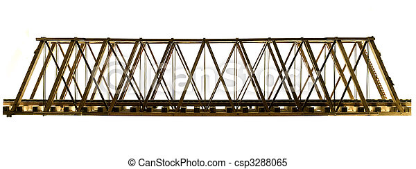 Wooden Model Truss Bridge