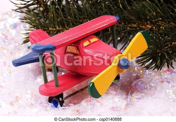Wooden Plane - csp0140888