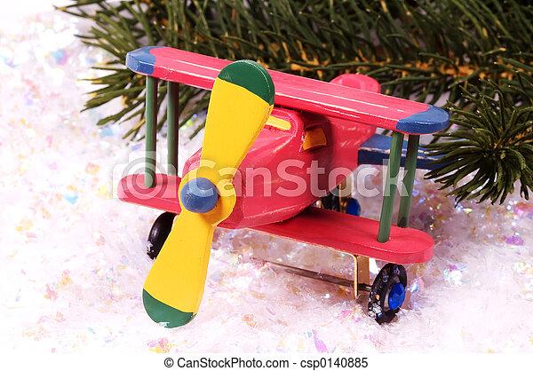Wooden Plane - csp0140885