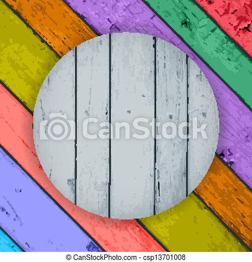wooden planks - csp13701008