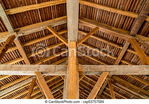 Wooden Roof Structure Image Of Wooden Roof Structure