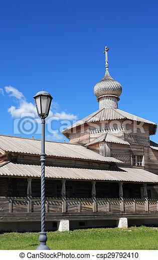 Wooden Russian Church - csp29792410