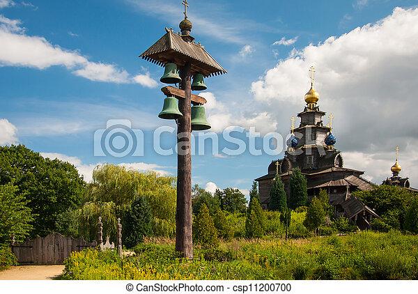 Wooden Russian church - csp11200700