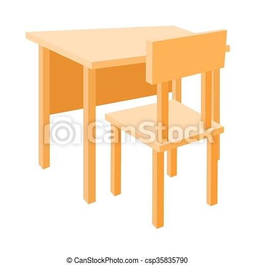 s desk tags and underside chair with student empty svg shelf school