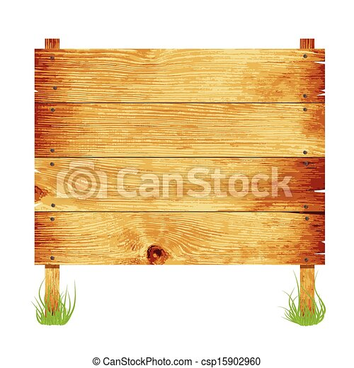 Wooden Sign With Rope Hanging On A Nail Image Contains Clip Art