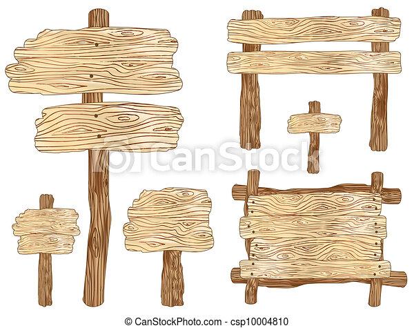 Wooden Signs - csp10004810
