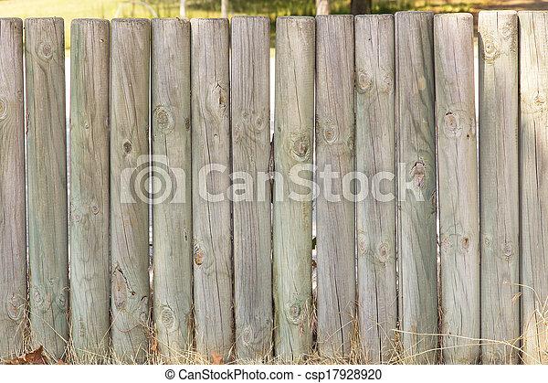 wooden slatted background - csp17928920