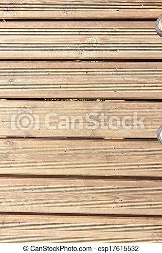wooden slatted background - csp17615532