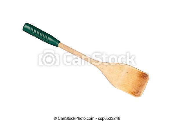 Wooden spatula - csp6533246