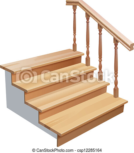 vector wooden stairs cross section on white background gradient rh canstockphoto com clip art stars and stripes clip art stars and stripes