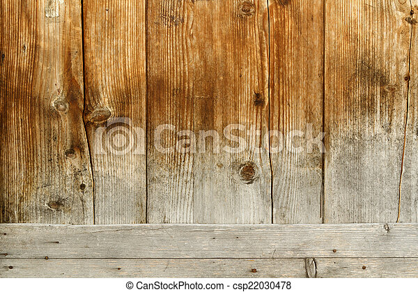 Wooden surface - csp22030478
