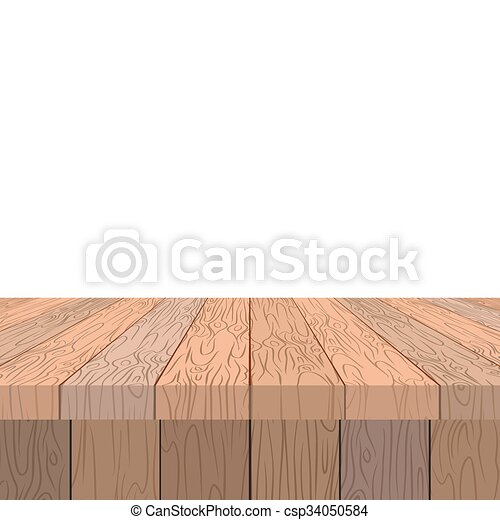 Wooden table old vintage table in perspective wooden stage