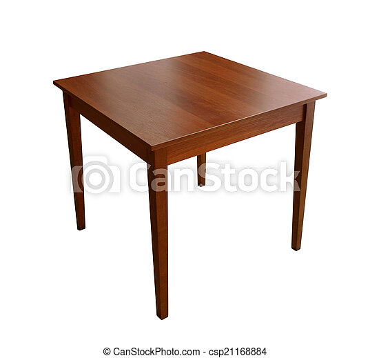 wooden table - csp21168884