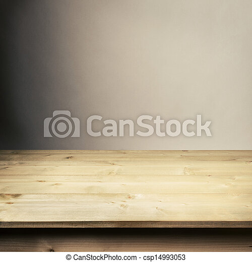 Wooden table - csp14993053