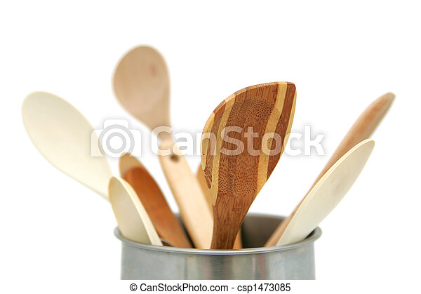 wooden utensils - csp1473085