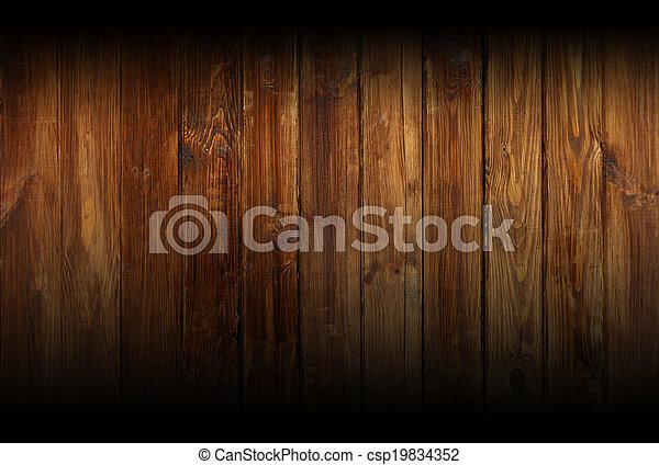 wooden wal - csp19834352