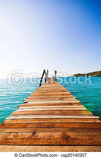 wooden walkway - csp20140307