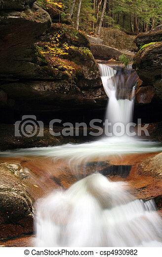 Woodland Waterfalls - csp4930982
